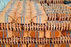 Mattonelle di tetto del classico Immagini Stock
