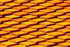Mattonelle di tetto del modello fondo del modello e di struttura Fotografie Stock Libere da Diritti