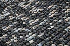 Mattonelle di tetto di stile cinese fotografia stock