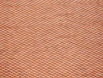 Mattonelle di tetto di un tempio Immagini Stock