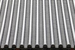 Mattonelle di tetto giapponesi del tempio Immagine Stock Libera da Diritti