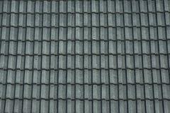 Mattonelle di tetto grige Fotografie Stock Libere da Diritti