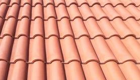 Mattonelle di tetto di PortugPortuguese utilizzate nella costruzione ecc ! Millimetro immagini stock