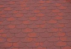Mattonelle di tetto rosse Immagini Stock
