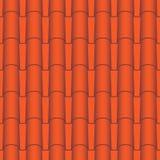 Mattonelle di tetto senza cuciture Fotografia Stock