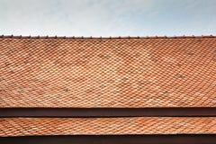 Mattonelle di tetto tailandesi di stile del tempio Fotografia Stock Libera da Diritti