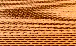 Mattonelle di tetto verdi immagini stock libere da diritti