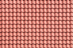 Mattonelle di tetto verdi Fotografia Stock Libera da Diritti