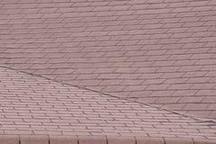 Mattonelle di un tetto immagine stock
