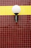 Mattonelle ed indicatori luminosi rossi Fotografia Stock Libera da Diritti