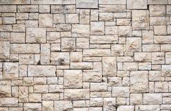 Mattonelle irregolari della roccia Fotografie Stock
