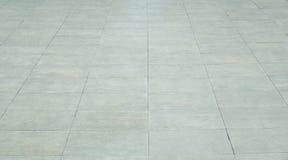 Mattonelle luminose e rettangolari della pavimentazione Fotografia Stock Libera da Diritti