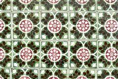 Mattonelle lustrate portoghesi 039 Fotografie Stock Libere da Diritti
