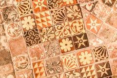 Mattonelle medievali Fotografia Stock