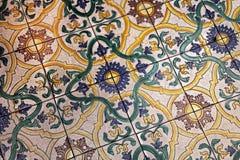 Mattonelle medievali di Roma Fotografie Stock