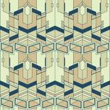 Mattonelle moderne pattern06 di vettore astratto Immagini Stock
