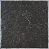 Mattonelle nere della pietra di rettangolo fotografia stock libera da diritti