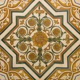 Mattonelle ornamentali Fotografie Stock