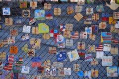 Mattonelle per l'America - memoriale a New York Fotografia Stock Libera da Diritti