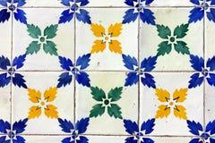 Mattonelle portoghesi Fotografia Stock