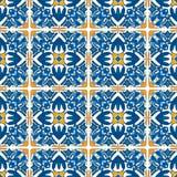 Mattonelle portoghesi Immagine Stock Libera da Diritti
