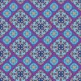 Mattonelle portoghesi di azulejo Senza cuciture splendido blu e bianco Fotografie Stock Libere da Diritti