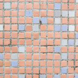 Mattonelle quadrate ceramiche del pavimento Fotografia Stock Libera da Diritti
