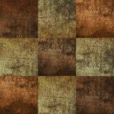 Mattonelle quadrate senza cuciture di colore marrone Immagine Stock Libera da Diritti
