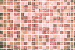 Mattonelle rosa Fotografia Stock Libera da Diritti