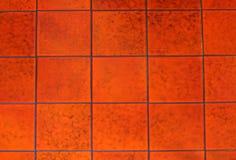 Mattonelle rosse Fotografia Stock