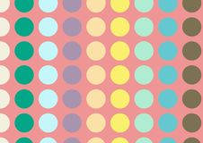 Mattonelle senza cuciture del modello Fondo disegnato a mano degli elementi decorativi d'annata Perfezioni per la stampa sul tess illustrazione vettoriale