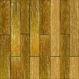 Mattonelle senza cuciture della plancia di legno dura Fotografie Stock Libere da Diritti