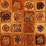 Mattonelle a spirale Fotografia Stock Libera da Diritti