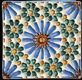 Mattonelle tradizionali da Oporto, Portogallo fotografie stock