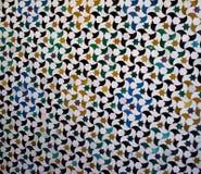 Mattonelle variopinte, stile arabo, a Alhambra immagini stock