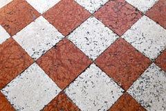 Mattonelle veneziane Fotografia Stock Libera da Diritti