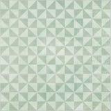 Mattonelle verdi del triangolo Immagini Stock