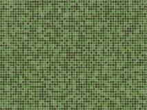 Mattonelle verdi di Mosaïc Fotografia Stock