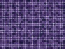 Mattonelle viola Fotografia Stock