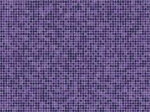 Mattonelle viola di Mosaïc Fotografia Stock