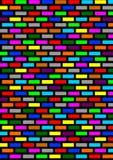 Mattoni colorati immagine stock