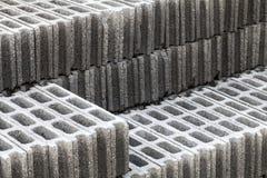 Mattoni del cemento Fotografie Stock