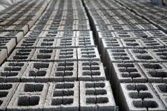 Mattoni del cemento Fotografia Stock Libera da Diritti