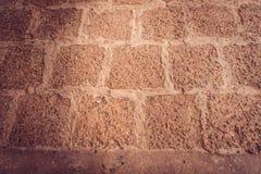 Mattoni dell'argilla rossa per pavimentare fotografia stock libera da diritti