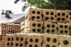 Mattoni della costruzione Fotografie Stock Libere da Diritti