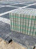 Mattoni della pavimentazione Fotografie Stock