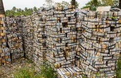 Mattoni di pietra Fotografie Stock Libere da Diritti