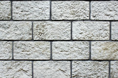 Mattoni di pietra della parete Fotografia Stock
