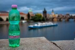 Mattoni Perliva捷克的口味 免版税库存照片