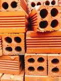 Mattoni rossi Fotografie Stock Libere da Diritti